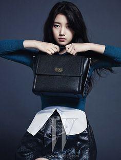Suzy ★ Miss A // W Magazine December Issue '13