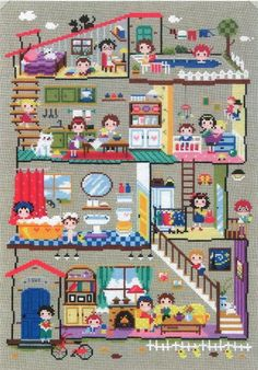 Hey, I found this really awesome Etsy listing at https://www.etsy.com/listing/201356381/cute-modern-cross-stitch-patterns-and
