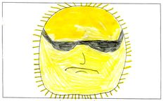 FRIDAY'S WEATHER FORECAST: Sunshine and 45 degrees. Today's weather picture was created by Christian Smith of Missoula, last fall when he was 11 years old. Weather art from Montana kids runs every day in the Missoulian.