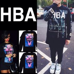 Rihanna loves hood By air Rihanna Love, Hood By Air, T Shirt, Tops, Women, Fashion, Tee, Moda, Women's