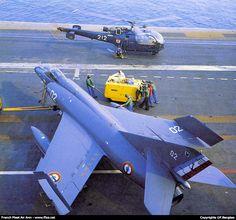 Dassault-Breguet Super Étendard & Aerospatiale Alouette III