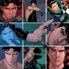 Dick Grayson: Robin I, Nightwing, Batman Nightwing, Batgirl, Supergirl, Superman, Im Batman, Batman Robin, Tim Drake, Arte Dc Comics, Bd Comics