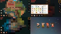 PixelTerra 2d sandbox survival game with roguelike elements. Loot, dungeons and nice pixelart
