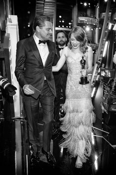 See All the Oscars Glamour in Black and White