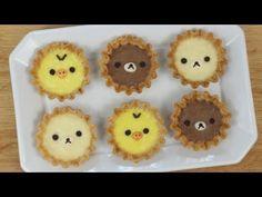Rilakkuma Bear Cake リラックマひんやりケーキ ダイカットお弁当箱で - YouTube