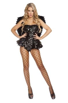 #FashionVault #roma #Women #Accessories - Check this : Dark Angel 1Pc. Sexy Costume for $74.99 USD