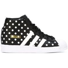 fee468af231702 Adidas Superstar Up Hi-Top Sneakers ( 107) ❤ liked on Polyvore featuring  shoes