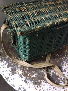 French gathering basket