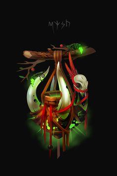 ArtStation - shaman's lamp, Tatiana MYSH