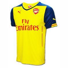 Puma Youth Arsenal Soccer Jersey (Away 14 15)   SoccerEvolution edc05dda8