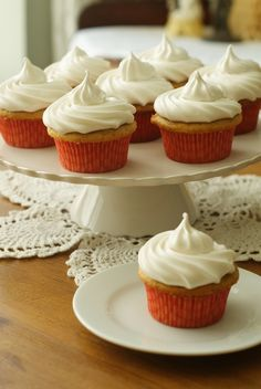 Hazelnut Cappuccino Cupcakes (aka Where I Fall in Love with 7-Minute Frosting)
