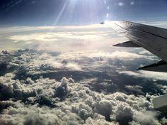 Flug nach Italien
