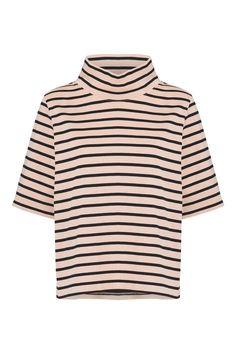 Old Spice Jersey T-shirt, Rose Smoke/Black