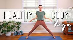 Use this 20 min full body yoga session to establish a regular home yoga practice that serves! Healthy Body Yoga cultivates a strong and healthy body while inviting you to go inward and connect to Beginner Yoga, Yoga For Beginners, Yoga Sequences, Yoga Poses, Yoga Session, Free Yoga Videos, 30 Day Yoga, Home Yoga Practice, Yoga With Adriene