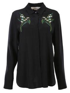 STELLA MCCARTNEY Stella Mccartney Embroidered Shirt. #stellamccartney #cloth #shirts