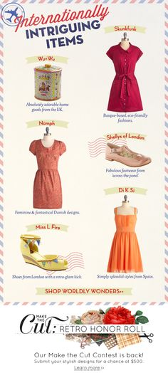 ModCloth Newsletters - Anchored Designs