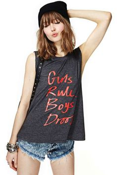 Nasty Gal Girls Rule Tank