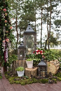 Without trees, it's not impossible to pull off an enchanted forest wedding, but it's going to take more prep work and resources. This is how you pull off an