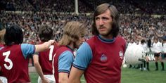 The 1975 FA Cup final saw Billy Bonds lead First Division West Ham against Fulham from Division Two