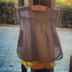 ¿Quién dijo que el vestido denim solamente es para mayores?