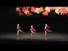 Jazz Dance Competition - Katrina - 11 year old Trio - YouTube