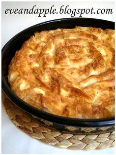 Eve and Apple: Szerb csavart túrós pite - fázisfotókkal Hungarian Cake, Macaroni And Cheese, Food And Drink, Apple, Eve, Baking, Ethnic Recipes, Easter, Christmas