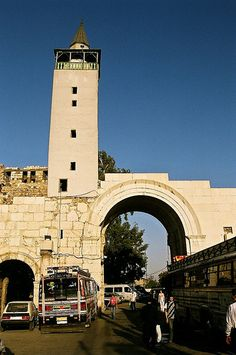 The Old City Wall, Christian Quarter, Damascus, Syria