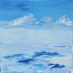 "Saatchi Art Artist Valentin Marian Ionescu; Painting, ""landscape #5"" #art"