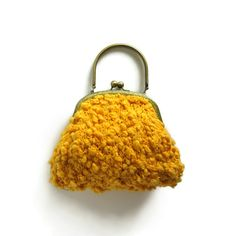 Hey, I found this really awesome Etsy listing at https://www.etsy.com/il-en/listing/156330048/sale-clasp-purse-hand-knit-in-yellow