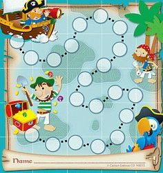 Pirate Treasure Hunt Mini Chart