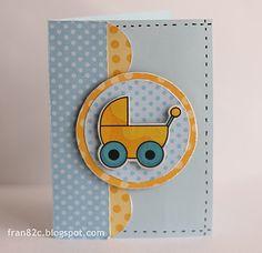 Cards by Fran #card #scrapbook #babyshower