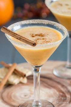 Pumpkin Pie Martini-84
