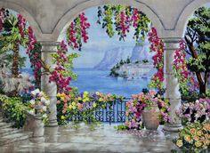 Mrs Du PLESSIS Floral Patio