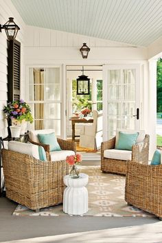 coastal style | Coastal Style: Outside Elements Brought Indoors.