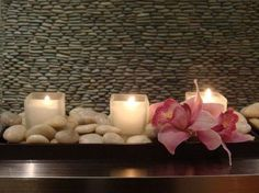 Spa Candles Making It Peaceful #aquaspabath #dreamon