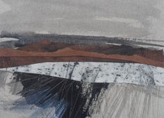 "Original art postcard by Janine Baldwin, pastel, charcoal, graphite and acrylic collage on card, 4""x6"", £20  https://www.etsy.com/uk/shop/JanineBaldwinArt?ref=hdr_shop_menu"