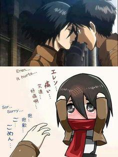 Aww #Mikasa #Kawaii #ShingekiNoKyojin