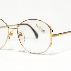 Check out super awesome products at Shire Fire! :-) OFF or more Sunglasses SALE! Vintage Sunglasses, Sunglasses Sale, Silhouette Glasses Frames, Vintage Silhouette, Optical Glasses, Yellow Accents, Optician, Models, Matte Gold