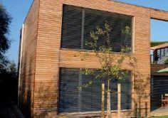 Drevená fasáda: fasadne obklady, drevené fasády