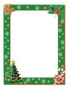 free printable boarders   Christmas Border - Free Page Borders   SpyFind