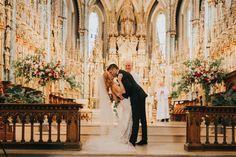 Breathtaking wedding ceremony at Notre Dame Basilica | Image by Joel Bedford Photography