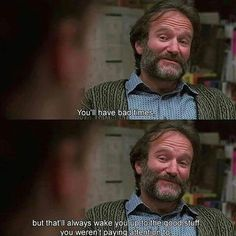 good will hunting ~ robin williams Pretty Words, Beautiful Words, Cool Words, Wise Words, Beste Comics, Citations Film, Robert Englund, Movie Lines, Film Quotes