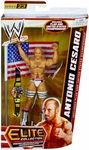Antonio Cesaro Manufacturer: Mattel Toys Series: Elite Collection Series 23 Release Date: September 2013 For ages: 4 and up UPC: 746775181888 Details (Description): Capturing all the action and dramatic exhibition of sports entertainment, the Mattel WWE Elite Collection features authentically sculpted 6 inch figures of the biggest WWE Superstars. Figures feature deluxe articulation, amazing detail and accessories such as masks, armbands and costumes.