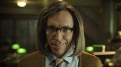 So here's LA Lakers injured guard Steve Nash dressed up as a weird Librarian to tell you about the DailyMVP app.