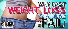 In the eyes of many, a quick diet plan based on chemicals and manufactured \u201cmedicines\u201d will produce great results. Not that fast, here are the real reasons why fast weight loss doesn't work... #totalbodytransformation