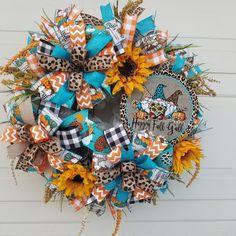 Fall Deco Mesh, Deco Mesh Wreaths, Fall Wreaths, Gnomes, Halloween, Home Decor, Decoration Home, Room Decor, Home Interior Design