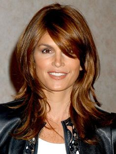 Love this color and cut!!  Cindy Crawford Hairstyles