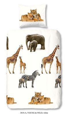 #Dekbedovertrek 1 persoons #Safari