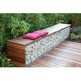 retainer wall/garden bench