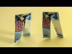 Geldschein falten Hose - Lustige Geldgeschenke basteln: Hochzeit / Origami Kleidung aus Geld - YouTube